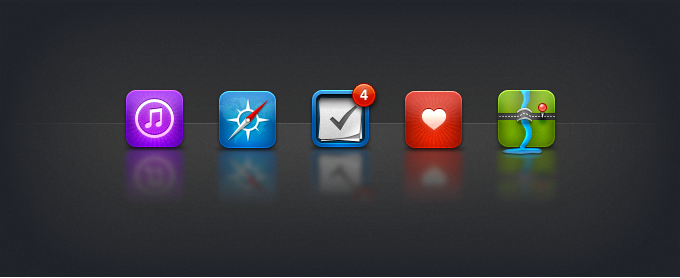 Replacement iOS Icons