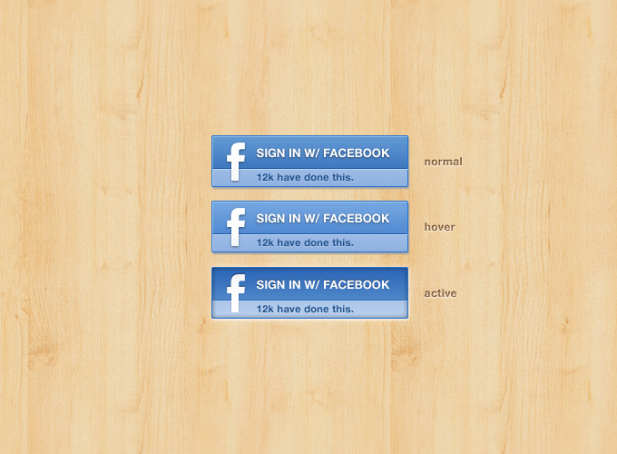 Facebook Signin Button