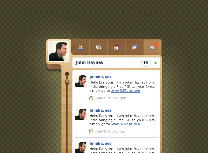 Facebook Custom Widget