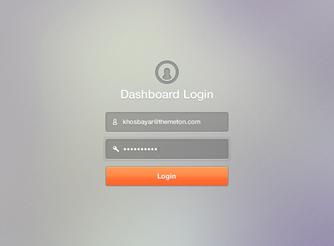 Dashboard Login