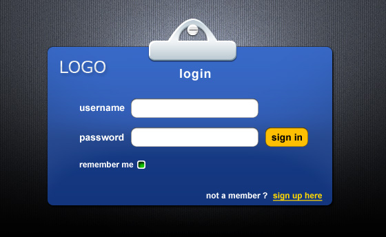 gui login, vector images - 365psd, Powerpoint templates