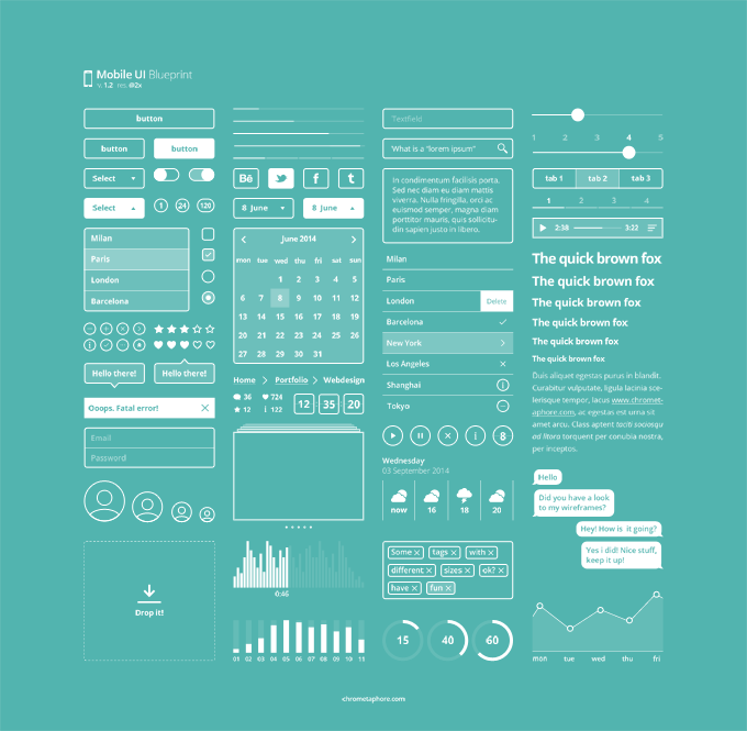 Mobile UI Blueprint 1.2