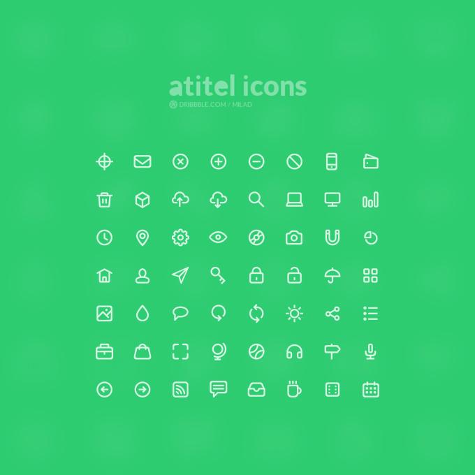 Free Icon Set [1] - 56 High-Quality Icons