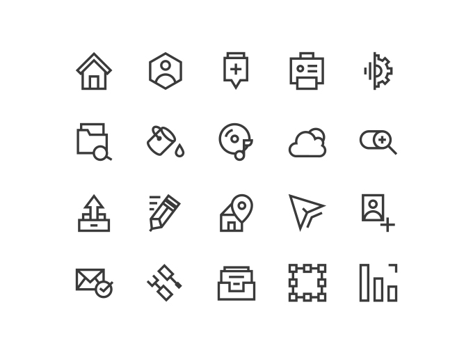 Icons For Web (Freebie)